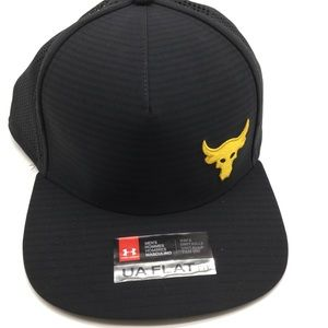 Under Armour Project Rock Supervent Flat Snapback